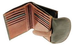Ladies Leather Compact Credit Card Holder Wallet Purse