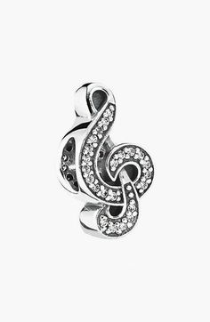 FOR: LEARNING THE CELLO | Treble Clef PANDORA 'Sweet Music Note' Bead Charm available at #Nordstrom