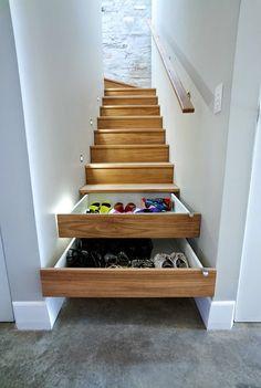 Aprovechando el hueco de cada escalera