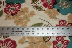 measuring long pieces of fabric