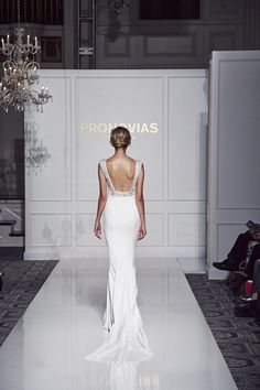 Vanila style from Atelier Pronovias 2016 Collection.
