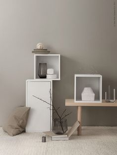 my scandinavian home: Trend: Greige Walls Home Decor Trends, White Walls, Ikea Inspiration, Decor, Interior Trend, Greige Walls, Home, My Scandinavian Home, Home Decor