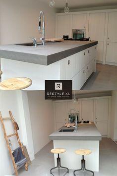 #restylexl#sloophout #witte #keukens #
