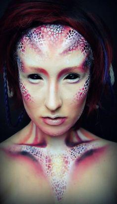 Alien Transformation in intense colours