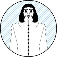 Philosopher's design: Descartes