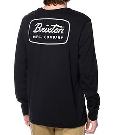 5ffffb1c11 Bring some premium styling and comfort into you life with the Brixton Jolt  long sleeve t