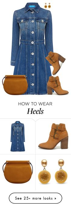 """""""Steve Madden"""" by tina-pieterse on Polyvore featuring M.i.h Jeans, Steve Madden and Vera Bradley"""