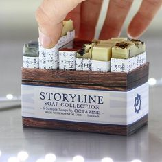 One company - two minds. This sampler featured soaps from our Octarine collection - telling stories with scent. Find both of our brands at oldfactorysoap.com #skincare #sampler #feedyourskin #shopsmall #oldfactorysoap #perfume #essentialoils #naturalperfume