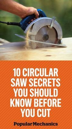 Tips for using a circular saw #WoodworkingTools