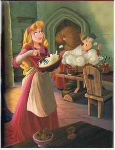 *PRINCESS AURORA & FLORA ~ Sleeping Beauty, 1959