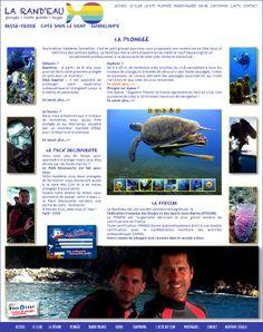 Pour vos vacances d'été 2014, pensez plongée, randonnée palmée, canyoning... Un club convivial vous attend sur l'Anse Duché, petite baie méconnue des Tours Operators...http://www.larandeau.com/stage-plongee-vacances-ete.html