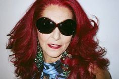 Patricia Field (American costume designer, stylist and fashion designer 4 things like Sex in the City & The Devil Wears Prada)