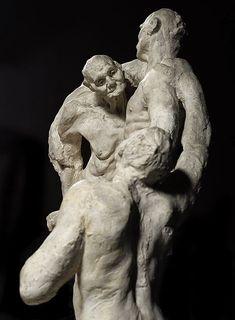 L'âge mûr (La edad madura). 1893-1900 Yeso. Procedente del Musée Rodin de París