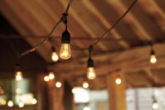 Outdoor Vintage String Lights