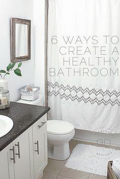 6 Eco Friendly Tips For A Healthy Bathroom