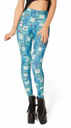 Adventure Time Leggings #BMO #Beemo