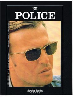 ccf758bf63 Police 1993. Optical Vision Resources · Vintage Eyewear 1990