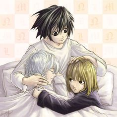 death note imagens L, Mello, and Near HD wallpaper and background fotografias