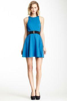 BB Dakota Kelsie Belted A-Line Dress by Non Specific on @HauteLook