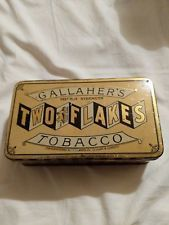 Gallahers two flake tobacco tin