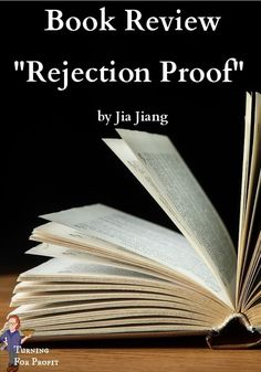 """The fear of rejection is a challenge to all of us, engaging in one to one selling. For the artisan craftsman it is more intense. Many of the products you are promoting are your own creation, your own design. I'm reviewing the book """"Rejection Proof"""" by Jia Jiang in order to tackle the fear of rejection. Learn my tips and the insight of Mr. Jiang to help you sell your product to more people. Cold Calling, Wood Turning Projects, Business Proposal, Better Day, Say Anything, Will Turner, Book Show, Big Picture, Book Reviews"""