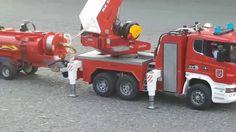 BRUDER FIRE ENGİNE  / BRUDER FIRE TRUCK WASHING CAR