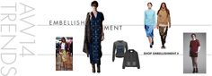 #MYWTRENDS #AW14 #EMBELLISHMENT
