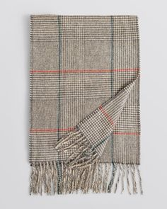The Men's Store at Bloomingdale's Glen Plaid Cashmere Scarf