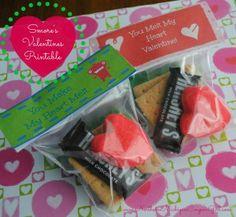 'You Make My Heart Melt' DIY Valentines w/ FREE Printable!