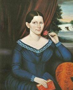 Joseph Whiting Stock (American artist, 1815–1855) Miss Thayer