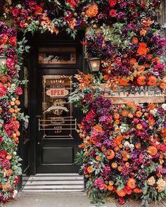 Balthazar Restaurant London Fallen London, London Restaurants, Floral Wreath, England, Wreaths, Design, Home Decor, Floral Crown, Decoration Home