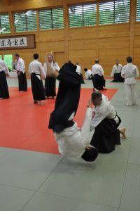 Aikidolehrgang im Budokan Wels / Oberösterreich, Mai 2014: Kokyonage