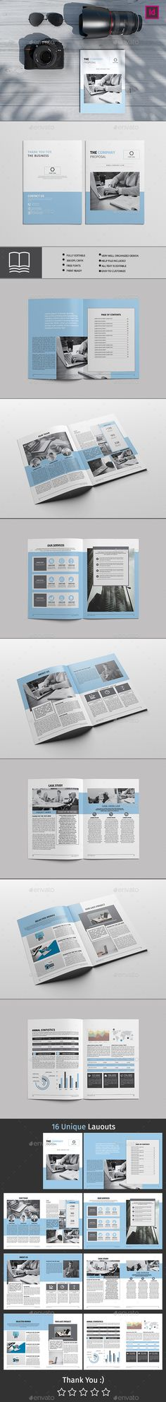 Proposal — InDesign INDD #orange #booklet • Available here ➝ https://graphicriver.net/item/proposal/20727680?ref=pxcr