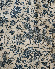 Dyed with indigo | Dutch 18th century cotton coat, Hindeloopen