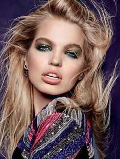 Daphne Groeneveld by Jason Kibbler for Vogue Russia August 2015