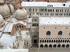 Le Palais des Doges imbriqué dans la Basilique Saint-Marc
