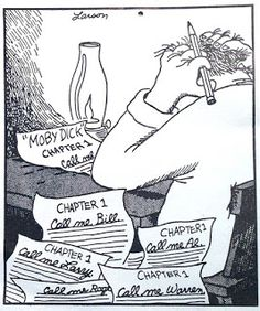Mystery Fanfare: Cartoon of the Day: Moby Dick