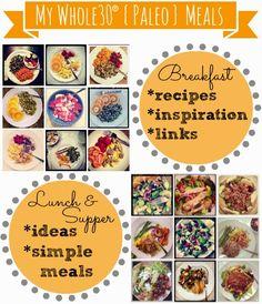Whole30 {Paleo} Meal Ideas   MyBlessedLife.net