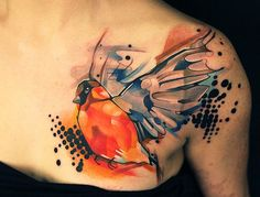 Genuinely awesome bird tattoo