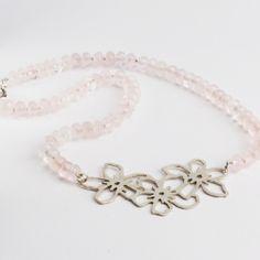 Spring Bouquet Gemstone Necklace