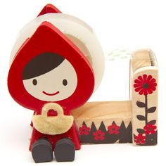 Party Favour:Little Red Riding Hood Tape Dispenser