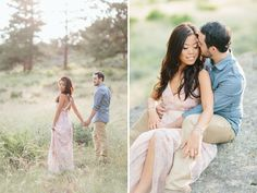 sweet summer engagement photos in colorado green wedding shoes weddings fashion lifestyle Engagement Photo Outfits, Engagement Photo Inspiration, Engagement Couple, Engagement Pictures, Engagement Shoots, Engagement Photography, Country Engagement, Wedding Photography, Fall Engagement