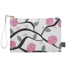 Georgiana Paraschiv Spring Blossom Pouch   DENY Designs Home Accessories