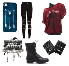 """""""Rebel Heart"""" by mallory-hail ❤ liked on Polyvore"""