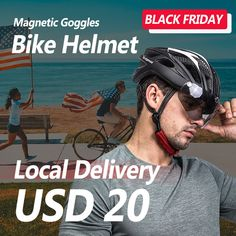BLACK FRIDAY FLASH DEAL FOR USA CUSTOMERS USPS FAST LOCAL DELIVERY. UP to 80% off for black friday yearly crazy sales. #bicyclehelmet #cyclinglife Mtb Bicycle, Bicycle Helmet, Pro Bike, Air Ventilation, Christmas Deals, Yearly, Black Friday, Delivery, Usa