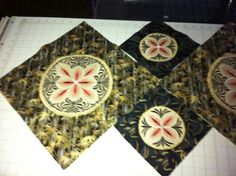 Table runner Zundt embroidery