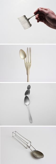 Experimental Cutlery That Challenges Traditional Ideas of Usability
