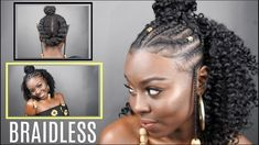 Fulani Styled BRAIDLESS Crochet [Video] - https://blackhairinformation.com/video-gallery/fulani-styled-braidless-crochet-video/