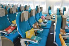 Air Tahiti Nui airlines Moana economy class