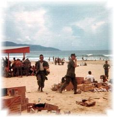 China Beach Da Nang Viet Nam - in 1969 I knew it was something special. Today there are luxury hotels built there.
